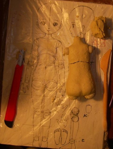 Куклы из керапласта своими руками 80