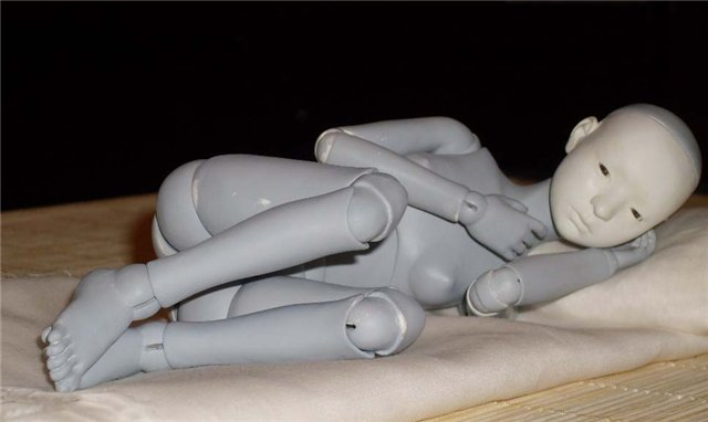 Силиконовые куклы мастер класс