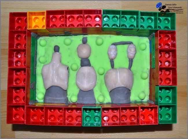 Формы из пластилина