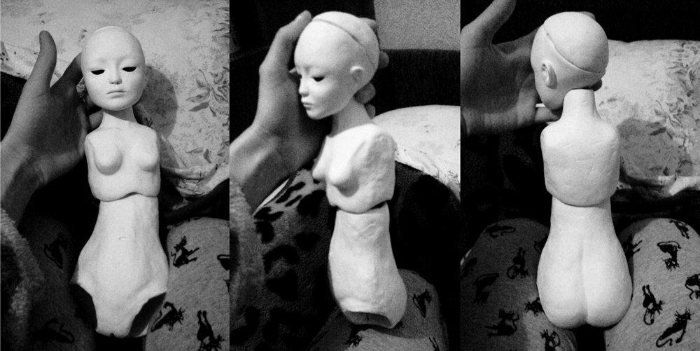 Шарнирные куклы из папье маше своими руками