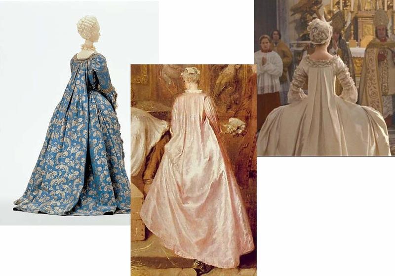 Платье ватто