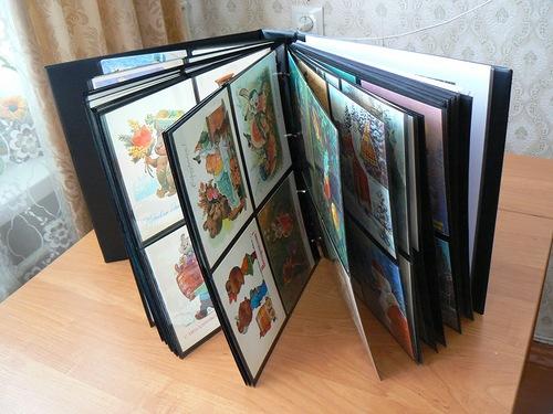 Как хранить открытки 56