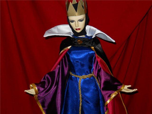 Костюм злой королевы своими руками
