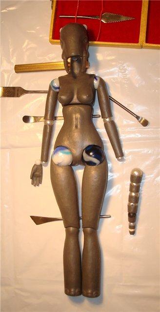 Мастер модель шарнирной куклы