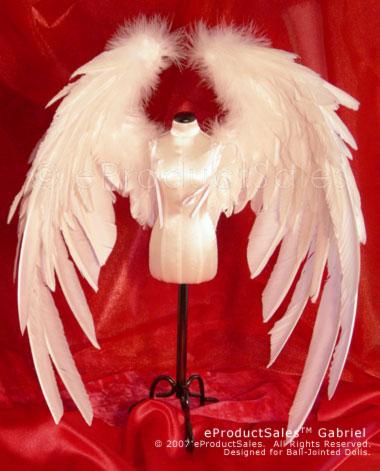 Как сделать крылья для куклы из перьев