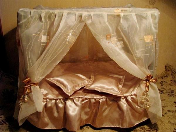 Как сделать балдахин на кукольную кровать своими руками