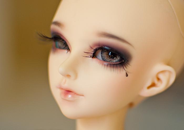 Мейк для куклы бжд как сделать